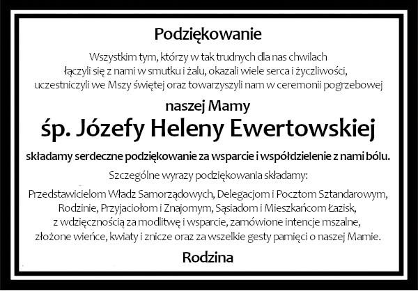 Podziekowania Ewertowska